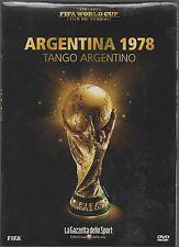 DVD FIFA WORLD CUP I FILM DEI MONDIALI 1978 ARGENTINA TANGO ARGENTINO