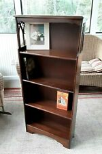 Book Case 4 Shelves with cutout sides 48 x 21 x 8