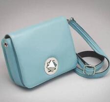 GunTote'nMamas GTM-15 ConcealedCarry Crossbody Handbag Ice Blue Lambskin Leather