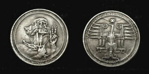 Poland 100 zlotych 1925 - PROBE, portrait Kopernik..very expressive large coin