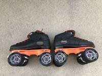 Reidell Carrera Roller Skates, Girls, Size 1, Quadcruiser, Pacer, 62mm ATOM Whls