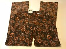 Moschino Women's Jeans Brown Pattern New With Tags