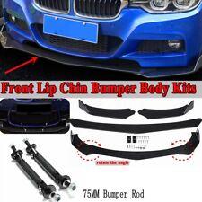 Front Bumper Lip Body Kit Spoiler For BMW E90 E91 E92 E93 F30 F80 E46 X5 E70 X6