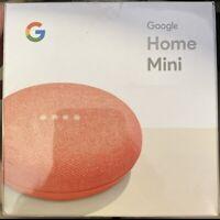 Google Nest Mini - 2nd Gen Smart Speaker w Google Assistant-(Coral)(GA01141-US)