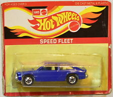 HOT WHEELS LEO INDIA SPEED FLEET CHEVY CITATION  DARK BLUE UNPUNCH