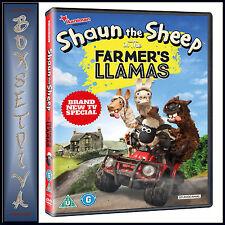 SHAUN THE SHEEP - THE FARMER'S LLAMAS *BRAND NEW DVD***