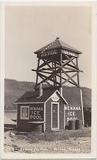 Alaska Ak Real Photo Rppc Postcard Nenana Ice Pool Watchman Tower