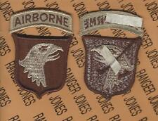 US Army 101st Airborne Division Air Assault COMBAT Desert DCU patch m/e