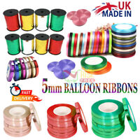 50 METER CURLING RIBBON Metallic/PLAIN for ALL Party GIFT BALOONS TIE NEW String