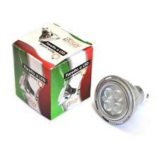 LAMPADA FARETTO RISPARMIO ENERGIA GU10 4 LED EPISTAR 6W B.CO 220V~240V 320LM