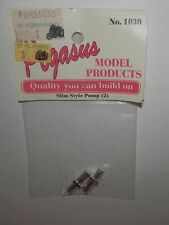 Pegasus Model Accessories 1:24/1:25 Slim Style Pump (2) #1030 NIP