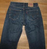 """WOW!!! LEVI`S 501 Herren- Jeans / LEVIS Blue- Jeans in dkl.- blau in W33"""" /L34"""""""
