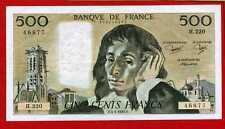 (Ref: H.220) 500 FRANCS PASCAL 3/01/1985 (SUP)