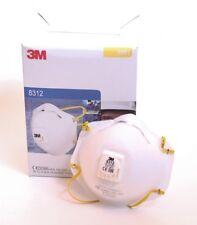 10 x 3M Atemschutzmaske 8312 FFP1 Feinstaubmaske Partikelmaske Maske mit Ventil