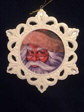 Pipka Santa Snowflake Ornament (7121001) NIB 2011 PMI