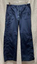 WonderWink Navy Blue Faith Boot Cut Cargo Size Large Scrub Pants 5108