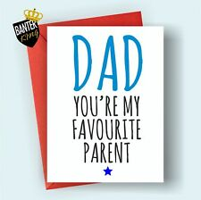 F3 DAD FATHERS DAY HAPPY BIRTHDAY GREETINGS CARD RUDE FUNNY ADULT JOKE CHEEKY