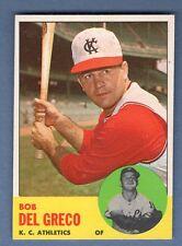 1963 Topps #282 Bob Del Greco EX-MT    CCS74