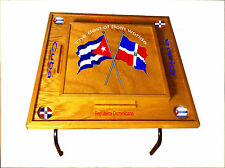 Dominican Republic  & Cuba Domino Table