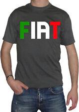 fm10 camiseta de hombre FÍAT estampado verde blanco rojo otros colores pregunte