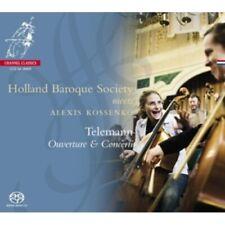 1-SACD TELEMANN - OUVERTURE & CONCERTI - HOLLAND BAROQUE SOCIETY / ALEXIS KOSSEN