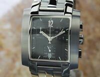 Tissot Luxury Swiss Made Chronograph 33mm Mens Quartz Stainless Dress Watch MA6