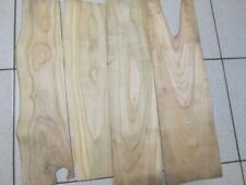 4pcs lot BIG (590х170x6mm) Lumber Natural cherry tree wood ,E43