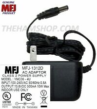 MFJ 1312D - 110 VAC To 13.8 VDC At 500 MA, Power Most MFJ Devices With This