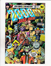 2000 A.D. Monthly No 1-6 Set 1985 Six Issue Judge Dredd Mega-Series Set!