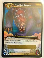 WOW TCG - The Red Bearon unscratched Loot Card WOW!!