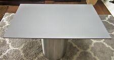 HPL Platte Tischplatte 8mm Mid Grey beidseitig 936 x 530 mm TRESPA® Meteon®