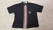 Vintage 90s TAZ BOWLING Mens Polo Looney Tunes Warner Bros Shirt LG  RARE