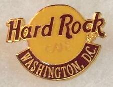 Hard Rock Cafe WASHINGTON DC Late 1990s Small Classic HRC Logo PIN 2LC HR #14181