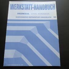 Werkstatthandbuch Honda Civic VI Aerodeck Karosserie Reparatur 1998