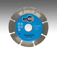 Marcrist UNI100 115mm x 22,23mm Profi Diamant-Trennscheibe Beton Universal Flex