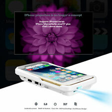 2017 Mini DLP Mobile Cinema HD Projector Home Theater HDMI USB For iPhone 6/7/7S