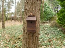 Handmade Eco friendly  Wooden Birds  nesting box 32m by Homes for Woodland Folk