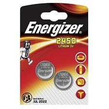 2x Pila Boton Energizer CR2450 Batería Litio 3V