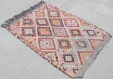 Turkish Kilim Rug 35''x49'&# 039; Hand Woven Konya Cicim Kilim 90x125cm