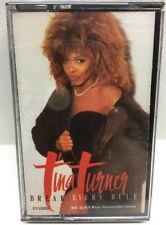 Tina Turner Break Every Rule Cassette Tape Sealed New C113333