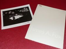 [PHOTOGRAPHIE] JAMES A. FOX (Ag. MAGNUM) Carnet Artiste + 1 Tirage signé ! 1995
