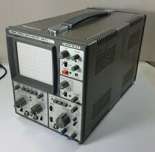 HAMEG OSZILLOSKOP HM 412-5 mit Adapter, Shunt und Taster; und Anleitung