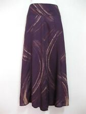 Ladies Wide Leg Pants Palazzo Lagenlook Bohemian Gypsy Hippie Trousers Wrap WLPT