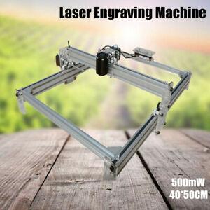 500mW 40x50cm Area Mini Laser Engraving Machine Printer Kit Desktop Engraver DIY