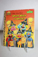 Sesame Street Which Witch Is Which? -A Little Golden Book 1997