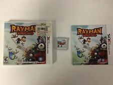 Rayman 3D + Origins Lot Nintendo 3DS Authentic Tested CIB COMPLETE