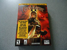 EverQuest Ii Pre-Order Starter Kit Pc Cd-Rom Eq2 Eqii Oop Nib New