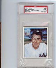 1986 TCMA #25 JOE DiMAGGIO Simon Baseball Super StarsYankees PSA 9