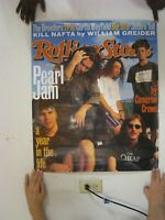 Pearl Jam Poster Rolling Stone Cover