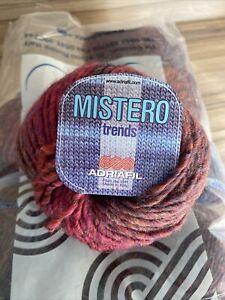 Mistero Trends Chunky Yarn By Adriafil In 9 X 50g Balls Shade 037